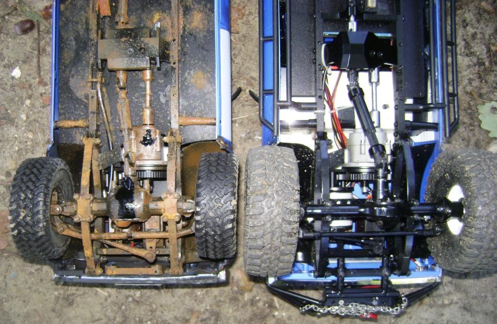 Les Toyota Hilux 2 & 4 portes RC4WD Trail Finder 2 RTR de Trankilou &Trankilette - Page 5 Dsc09550