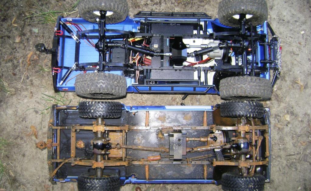 Les Toyota Hilux 2 & 4 portes RC4WD Trail Finder 2 RTR de Trankilou &Trankilette - Page 5 Dsc09551