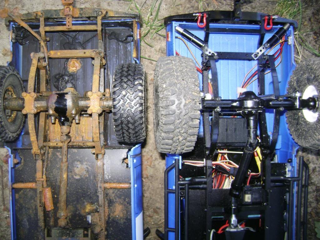 Les Toyota Hilux 2 & 4 portes RC4WD Trail Finder 2 RTR de Trankilou &Trankilette - Page 5 Dsc09552