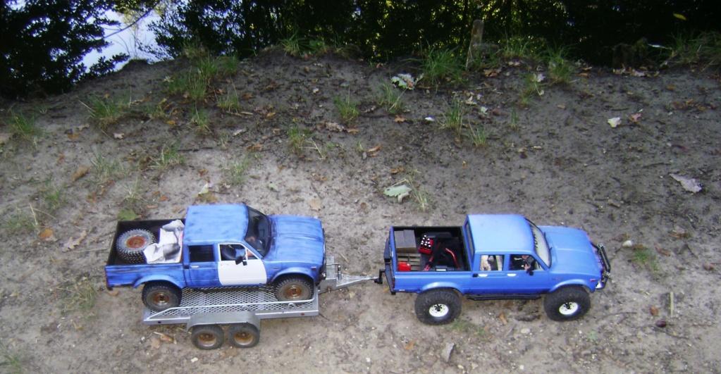 Les Toyota Hilux 2 & 4 portes RC4WD Trail Finder 2 RTR de Trankilou &Trankilette - Page 5 Dsc09554