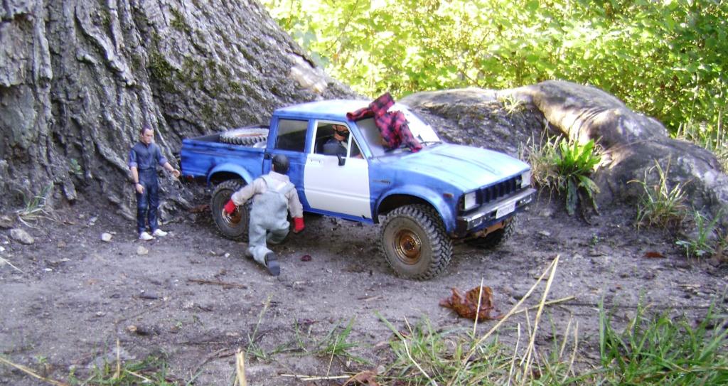 Les Toyota Hilux 2 & 4 portes RC4WD Trail Finder 2 RTR de Trankilou &Trankilette - Page 5 Dsc09556