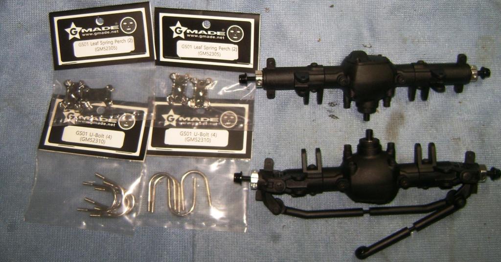 Les Toyota Hilux 2 & 4 portes RC4WD Trail Finder 2 RTR de Trankilou &Trankilette - Page 6 Dsc09672