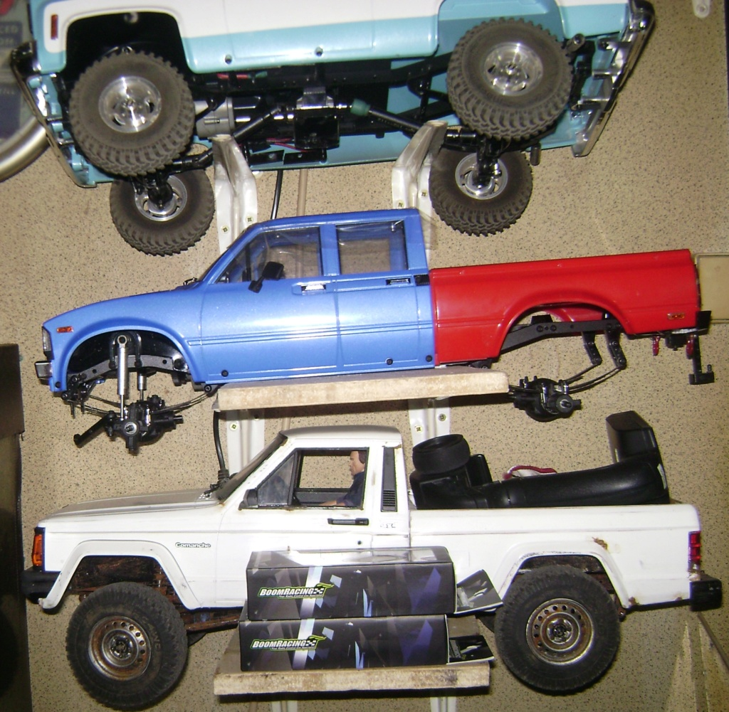 Les Toyota Hilux 2 & 4 portes RC4WD Trail Finder 2 RTR de Trankilou &Trankilette - Page 7 Dsc09903