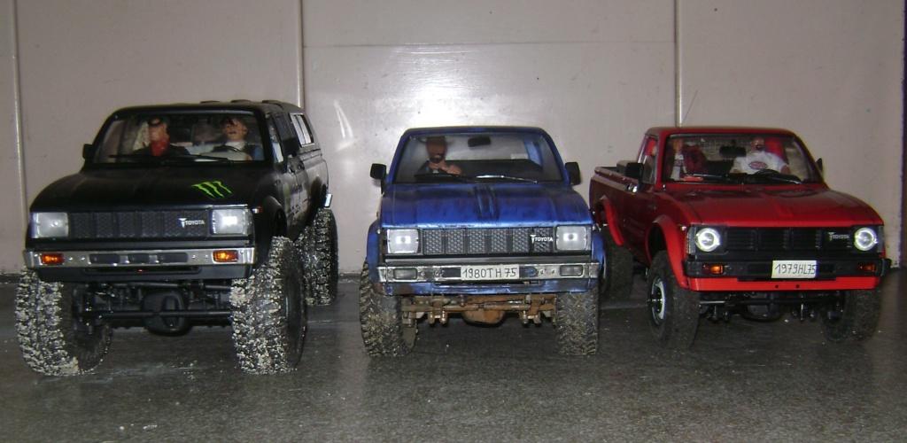 Les Toyota Hilux 2 & 4 portes RC4WD Trail Finder 2 RTR de Trankilou &Trankilette - Page 9 Dsc09976