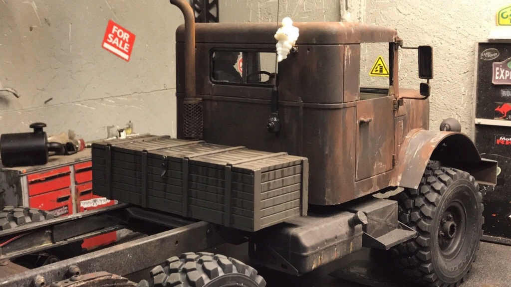 Cross Rc HC6 Old School Truck Custom 1970 S-l16020