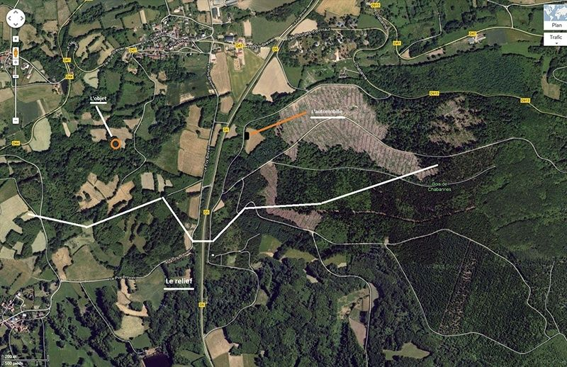 1982-1983: En août - Observation d'une boule mystèrieuse - Bois de chabanne (23) 2012-111