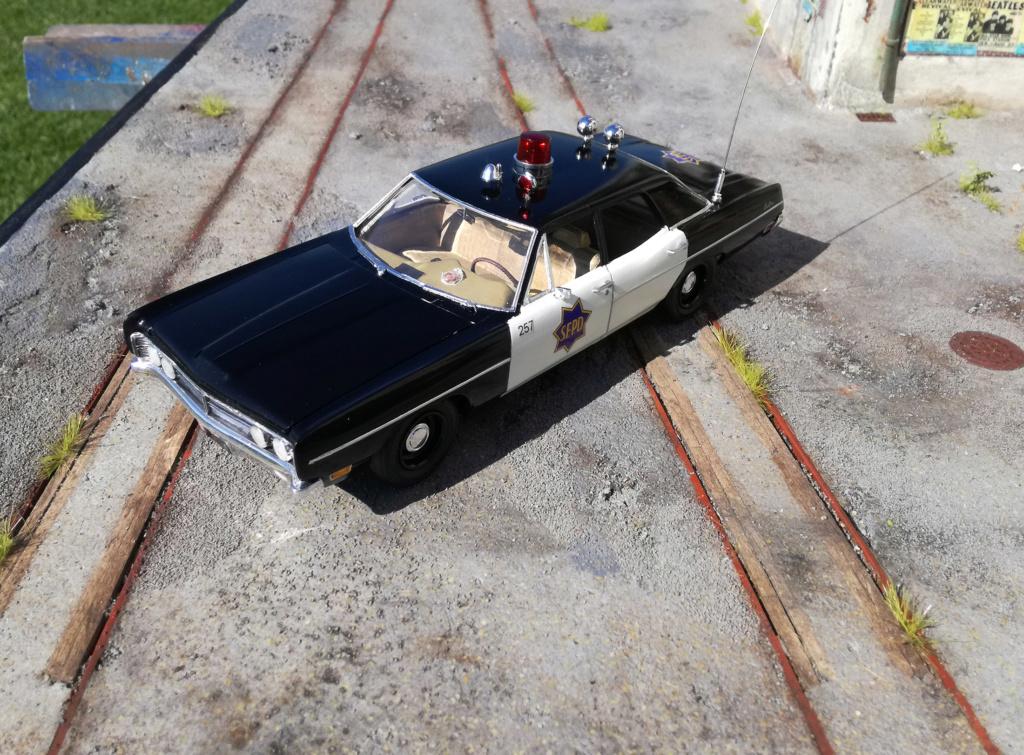 maquette auto police. 6_197010