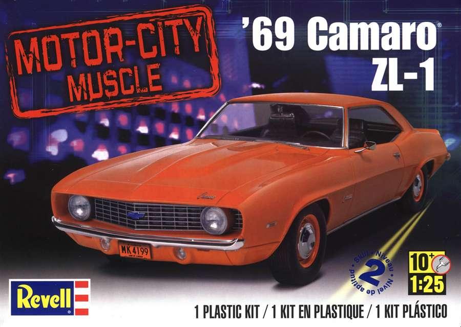 Echange (ou vend) Camaro 69 Z28 Revell Rm405610