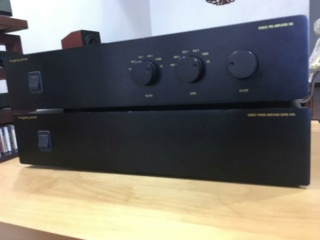 Exposure 19 preamp and 18 Super power amp Exposu12
