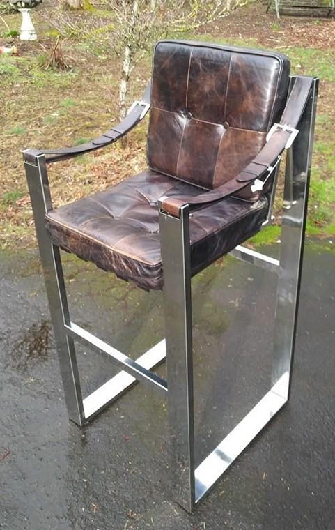 Chrome Chair ID Help Please tall post 1988 Sling Belt armrest UK? Chrome15