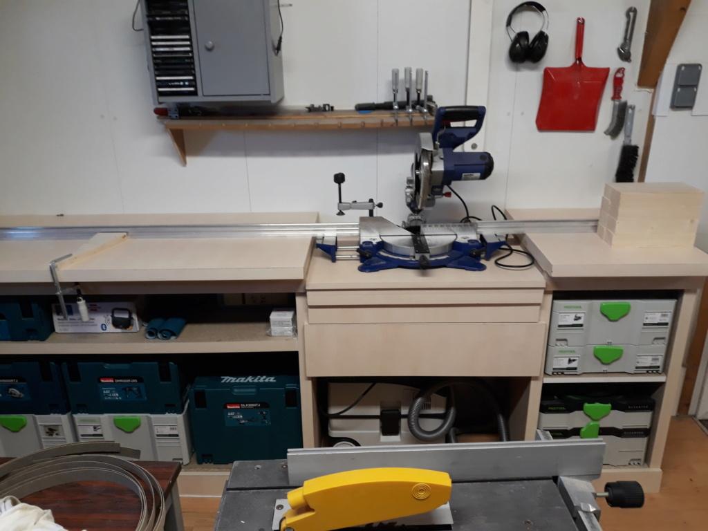 ré aménagement de mon atelier  20210110