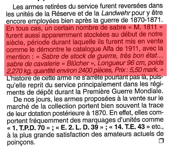 SABRE DE CAVALERIE ANGLAIS P1796 - Page 2 Tradit10