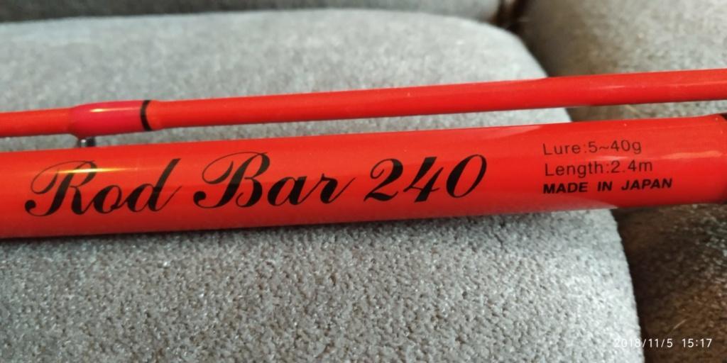 [Vendo] Spettacolare Tenryu Rod Bar 240 Whatsa30