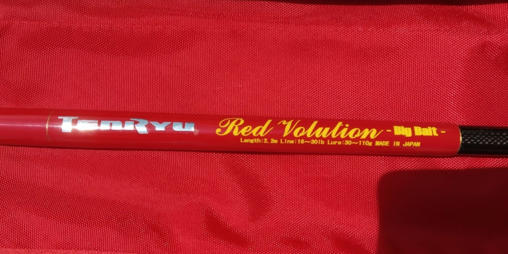 [Vendo] Tenryu Red Volution Big Bait Whatsa69