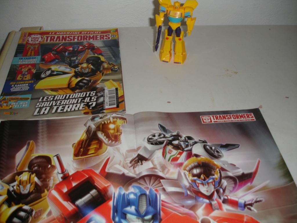 "Magazine TRANSFORMERS de panini kids ""transformers cyberverse"" Dsc01723"