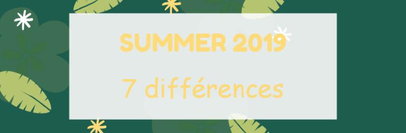 [Summer 2019]7 différences Banniz17