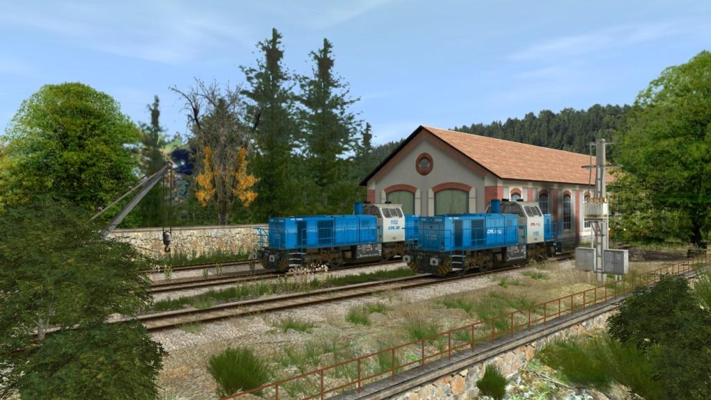 Locomotives Vossloh Girau113