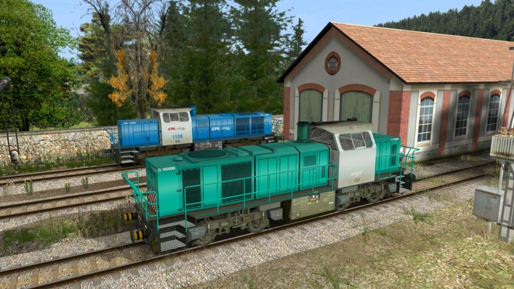 Locomotives Vossloh Girau116