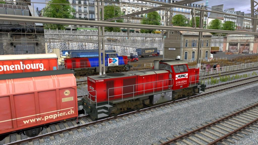 Locomotives Vossloh Girau121