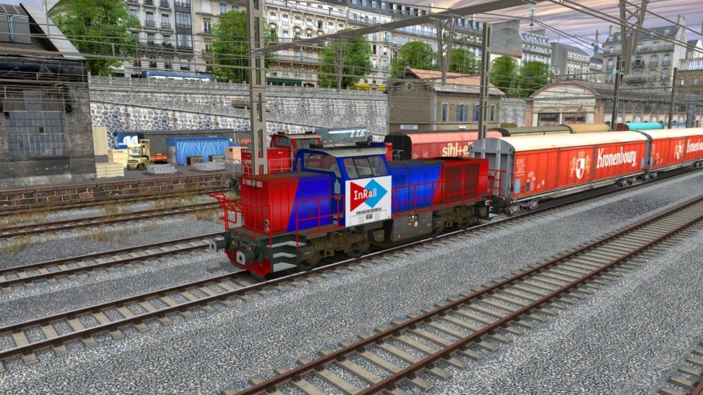 Locomotives Vossloh Girau122