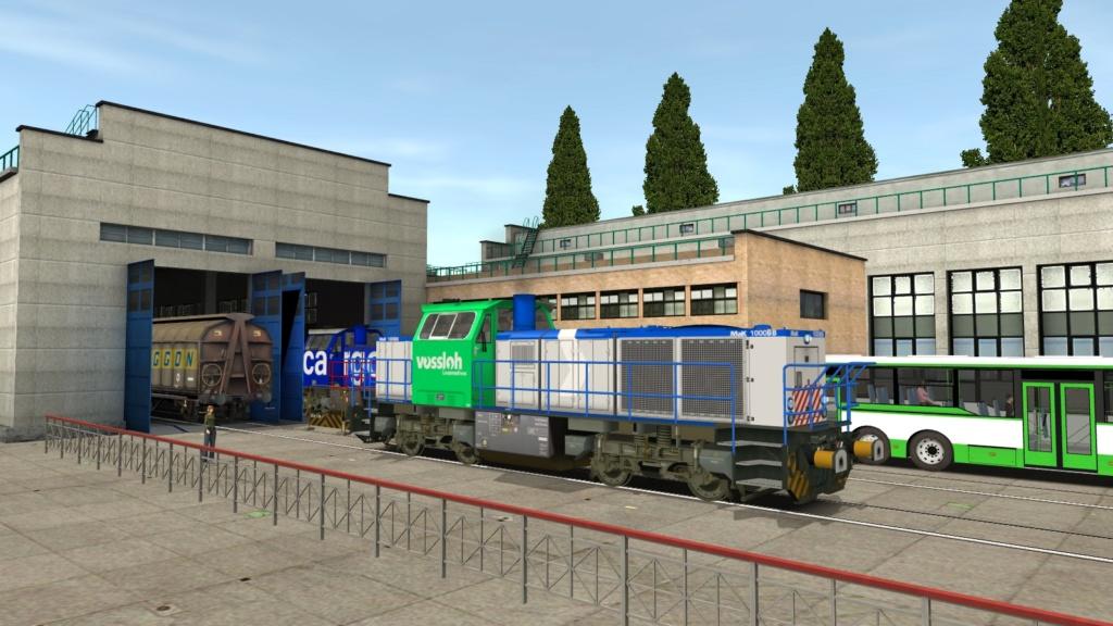 Locomotives Vossloh Girau131