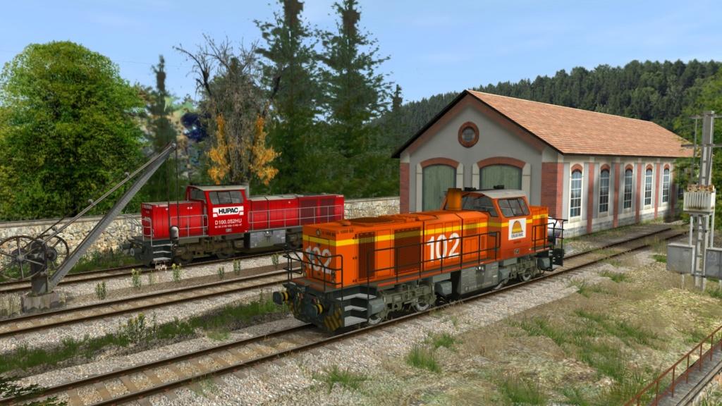 Locomotives Vossloh Girau140
