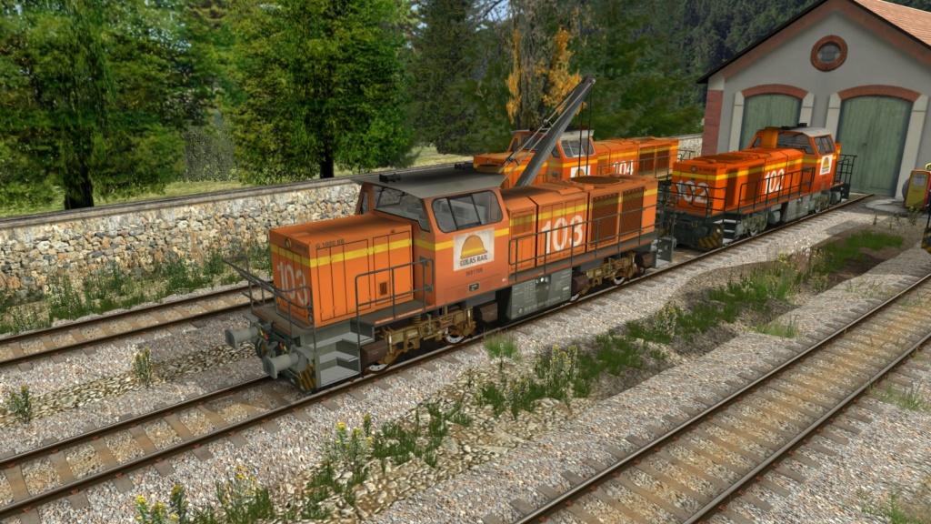 Locomotives Vossloh Girau141