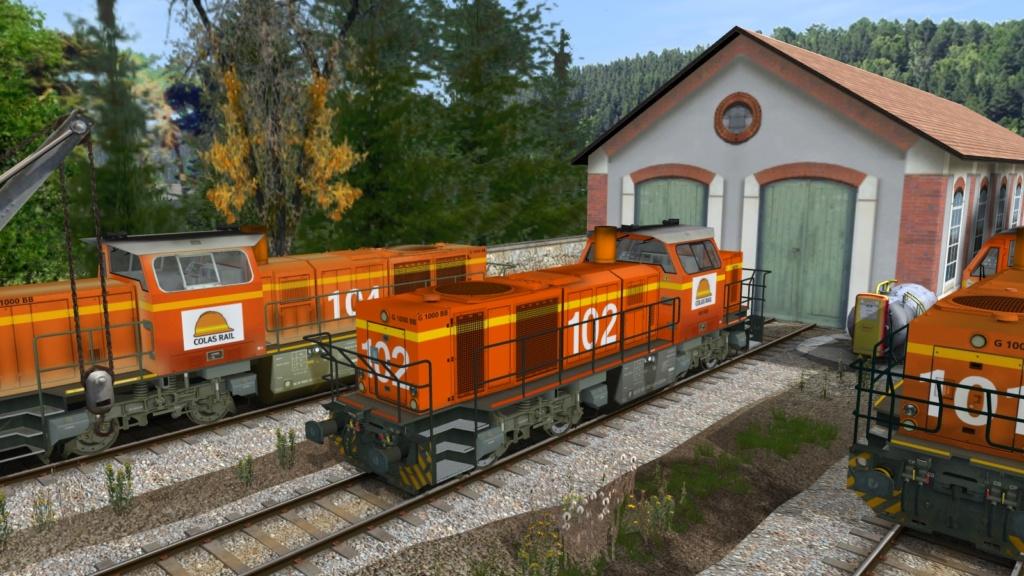 Locomotives Vossloh Girau142