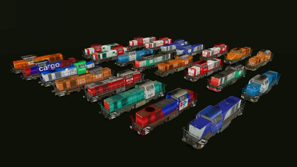 Locomotives Vossloh Girau143