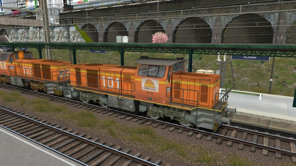 Locomotives Vossloh Girau148