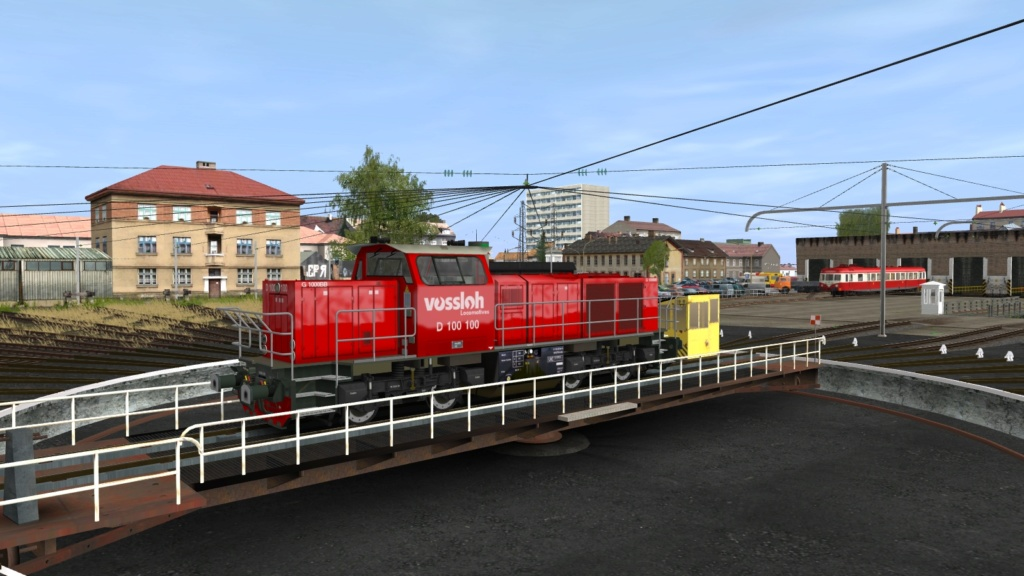 Locomotives Vossloh Girau154