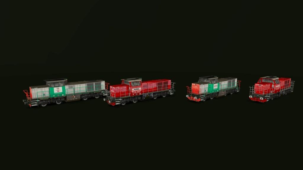 Locomotives Vossloh Girau157