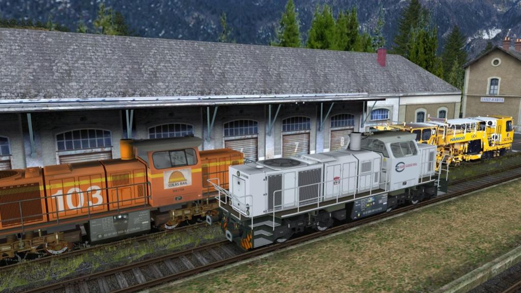 Locomotives Vossloh Girau187