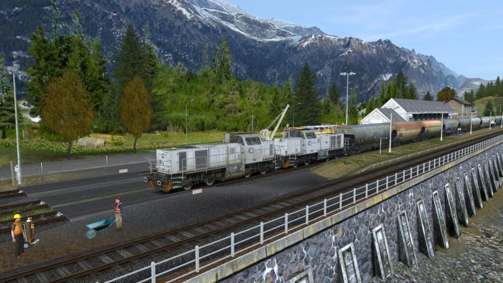 Locomotives Vossloh Girau191