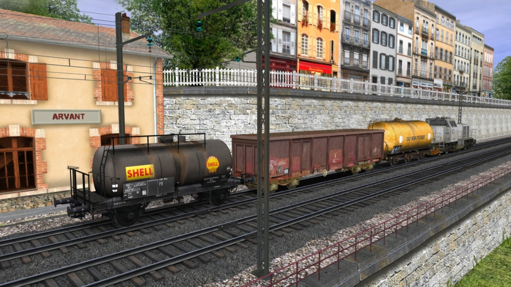 Wagons divers Girau226