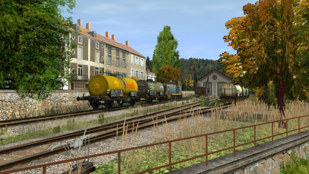 Wagons divers Girau252