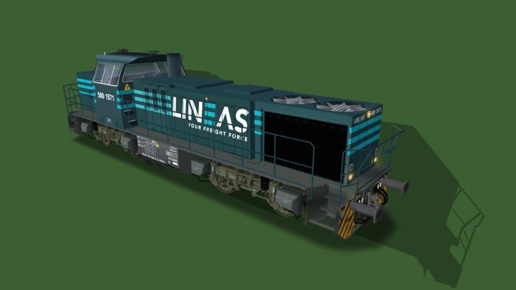 Locomotives Vossloh Girau511