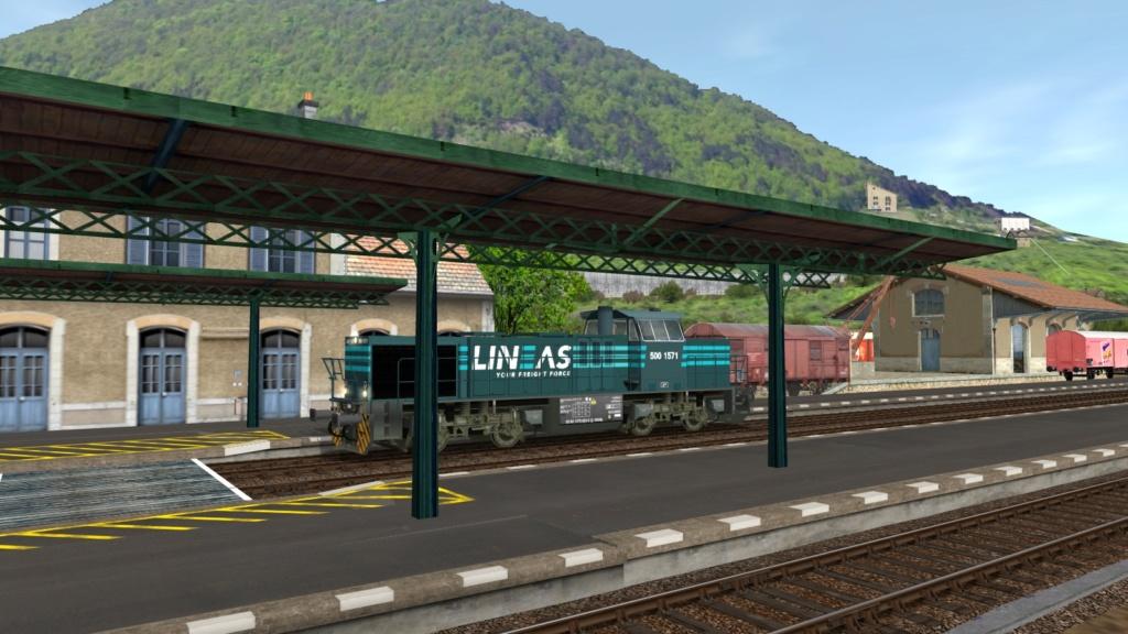 Locomotives Vossloh Girau514