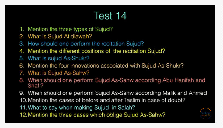 Pray the Prophet`s (Sallallahu Alayhi wa Sallam) Way 14-910