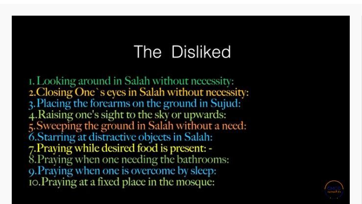 Pray the Prophet`s (Sallallahu Alayhi wa Sallam) Way 17-210