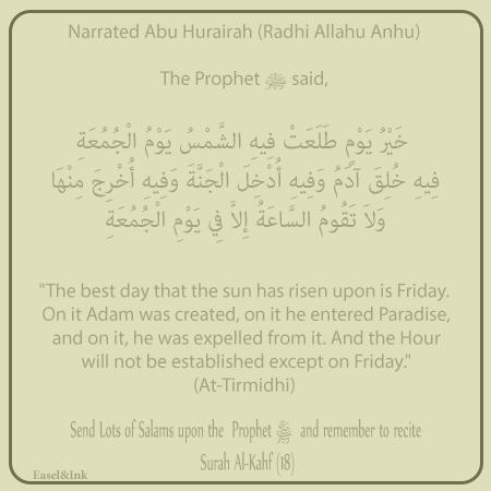 Hadith on Yaum al-Jumu'ah Jum-ad10