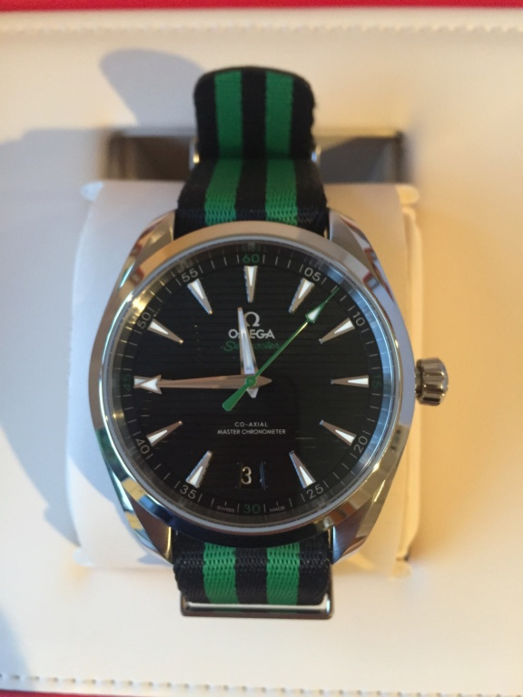 seamaster - [Vends] Omega Seamaster Aqua Terra Golf Black Img_2110
