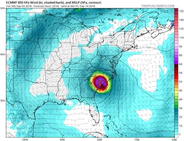 2018 Hurricane Season  - Page 5 Ecmwf_11