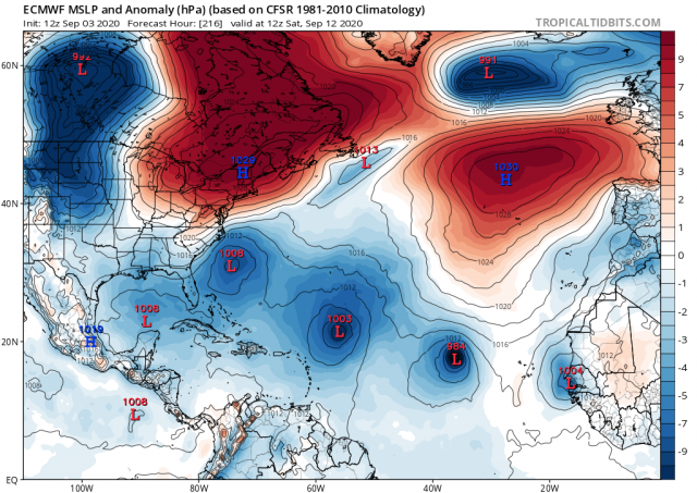 Hurricane Season 2020-Active Season- - Page 23 Ecmwf_12