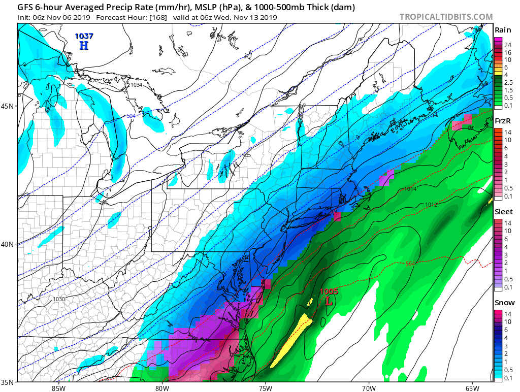 Watching November 9th to 12th - First Snow?  Gfs_ms11