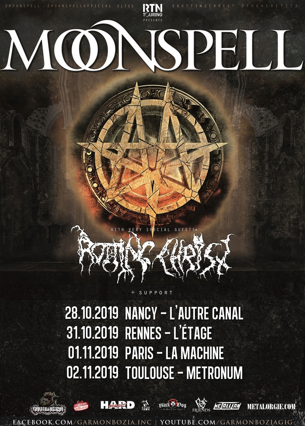 MOONSPELL/ ROTTING CHRIST + guests - tournée en France octobre/novembre 2019 5407510