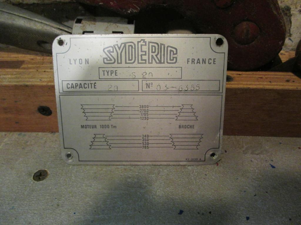 perceuse sydéric S20 nouvelle arrivé dans l'atelier  Img_5012