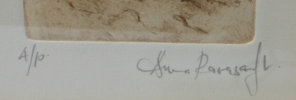 Help to read signature on artist's proof P1590511