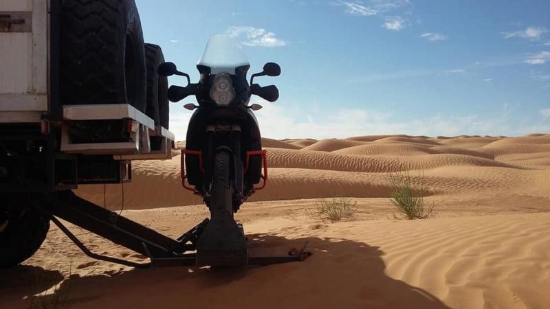 Porte-moto sur U1300L 49431812