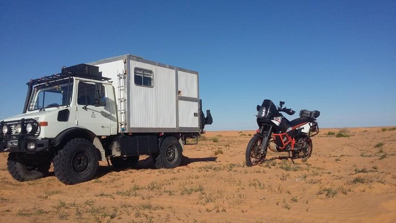 Porte-moto sur U1300L 51689211
